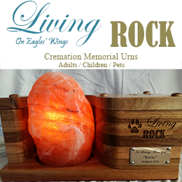 Living Rock Cremation Memorial Urns